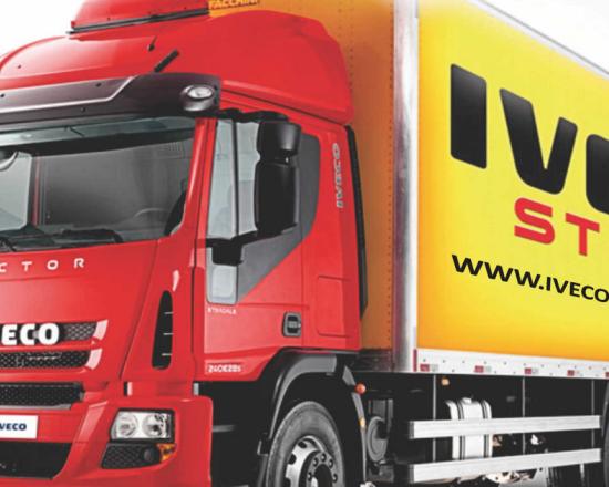 Iveco lança grife de produtos da marca