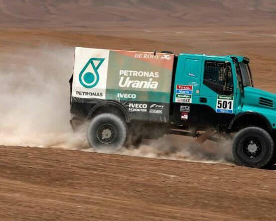 Gerard de Rooy conquistou o 2º lugar na sétima etapa do Dakar