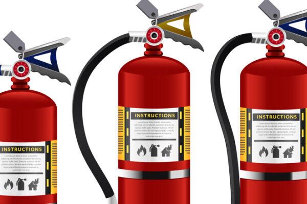 Uso do extintor de incêndio ABC é adiado mais uma vez