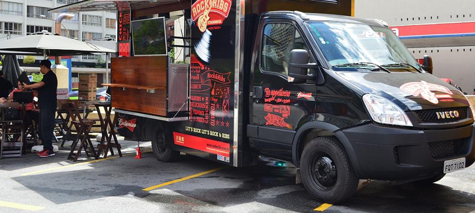 Parceria com rede nacional de fast-food faz Iveco entra de vez na onda dos Food Trucks