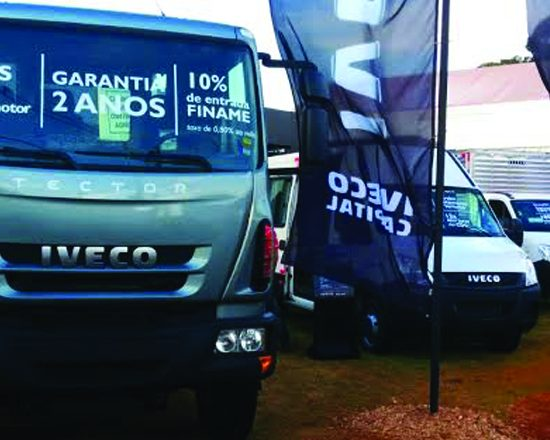 Iveco na Agrishow