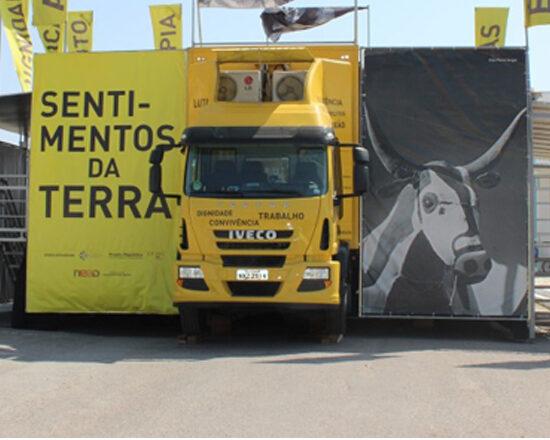 Iveco Tector vira museu itinerante