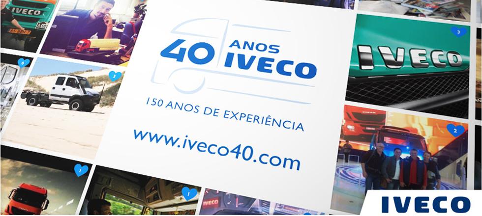 Iveco celebra seu 40º aniversário
