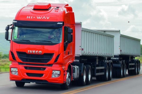 Restrição para caminhões