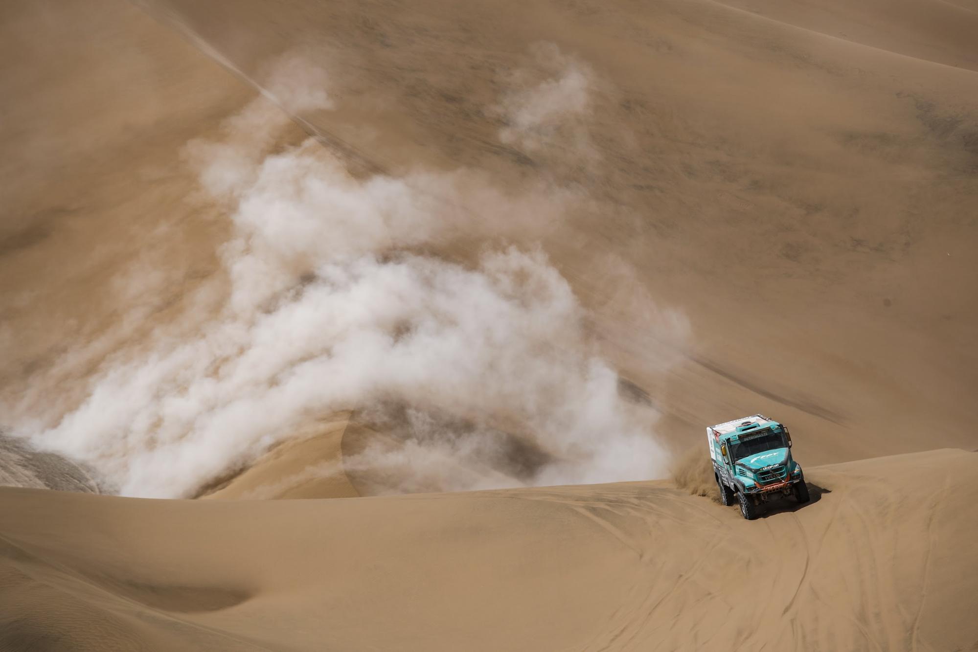 41ª edição do Rally Dakar, realizado no Peru.